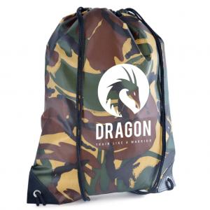 Camo Drawstring Bag