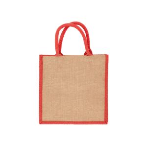 Coloured Brighton Jute Bag