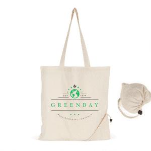 Natural Cotton Foldable Shopper Bag