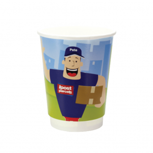 Double Walled 12oz Printed Paper Cups - Totally Branded
