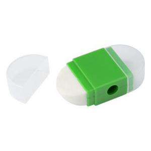 Eraser with pencil sharper