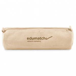 Natural Cotton Pencil Case