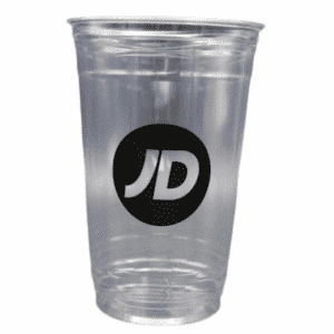 1 Colour Printed Pint Plastic Pint Glass