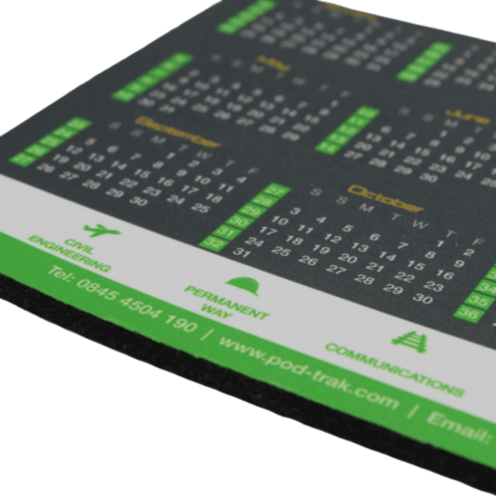 Printed Mouse Mat with No Minimum Order Quantity