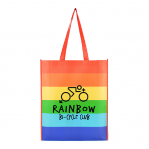 Rainbow Shopper Bag - Totally Branded