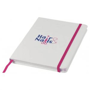 A5 White Spectrum Notebook