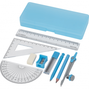 branded-9-piece-geometry-set-blue