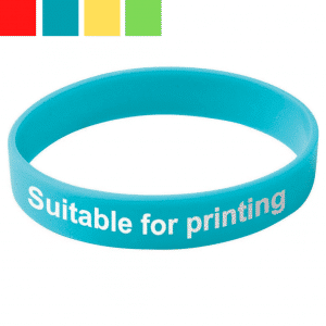 5 Day Express Printed Silicone Wristbands