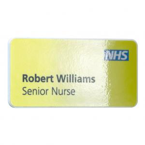 Antimicrobial Name Badges