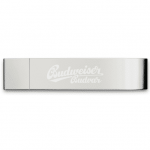 Silver Bottle Opener USB