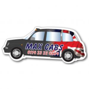 Black Cab Magnet