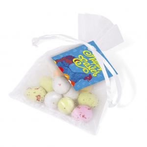 Easter Organza Bag of Mini Eggs
