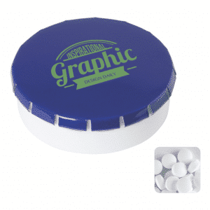 Round Tin with Sugar Free Mints