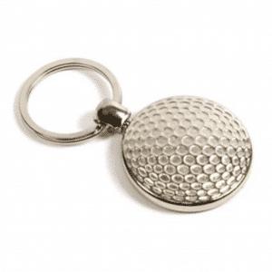 Metal Golf Ball Keyring