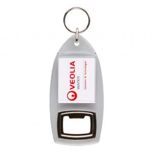Acrylic Bottle Opener Keyring