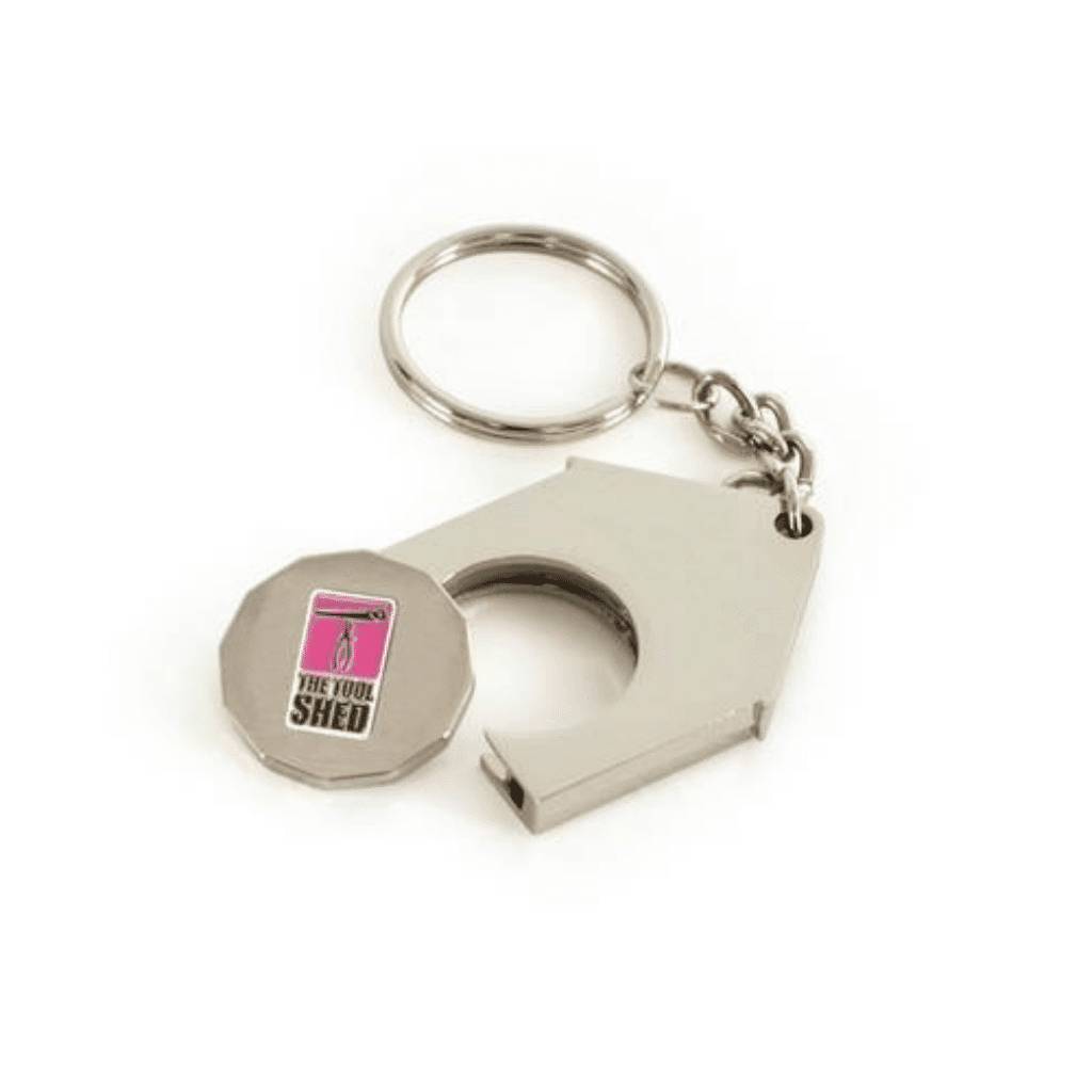 House Shape Trolley Coin - Totally Branded - Estate Agents Merchandise