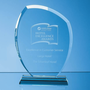 Jade Glass Autumn Leaf Award