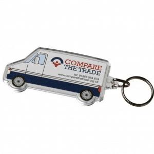 Van Shaped Keyring