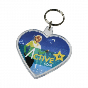 branded-heart-shaped-keyrings