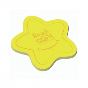 printed-sticky-note-star-shape