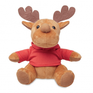 Soft Plush Reindeer with Sweater