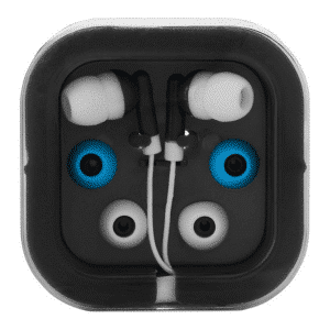 promotional-earphones-with-2spare-budes-in-a-branded-case