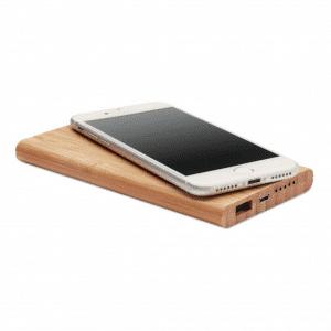 branded-wireless-bamboo-charging-powerbank-pad