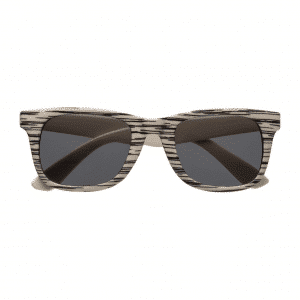 Branded Sunglasses with Wooden Effect