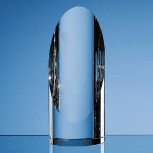 16.5cm Optical Crystal Cylinder Award