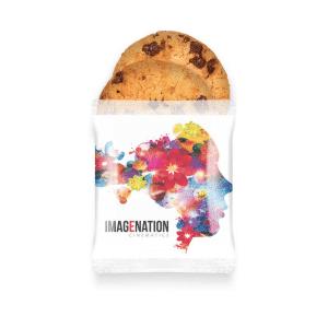 Branded Paper Flow Bag - Maryland Cookies - x2