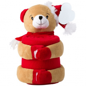 Christmas Bear with Blanket
