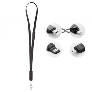 Lanyard With 3 in 1 Charging Cable