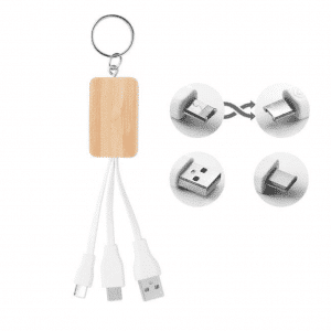 Bamboo Charging Cable