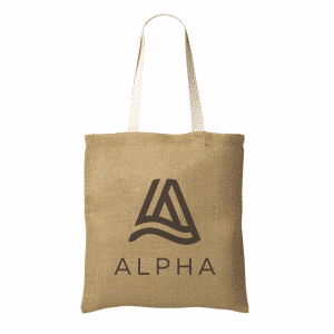 Geneva Jute Shopper bag