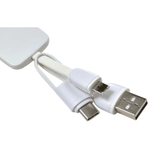 USB Charging Cable with Keyring