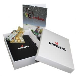 Branded Christmas Gift Box - Silver