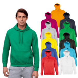 13251SOL'S Unisex Slam Hooded Sweatshirt