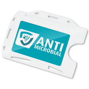 Antimicrobial ID Card Holder