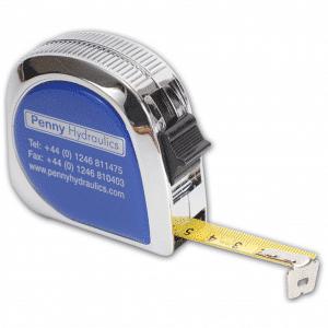 CH05 Chrome Tape Measure