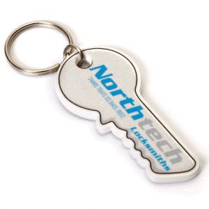 Key Shaped Keyring