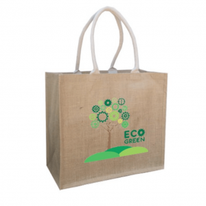 Jute Bag With Large Gusset
