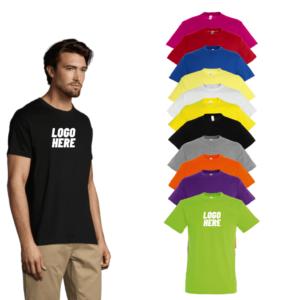 Printed SOL'S Regent T-Shirt