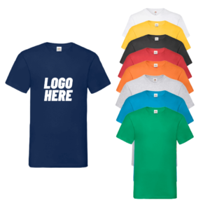 SS7 - Fruit of the Loom V Neck Value T-Shirt
