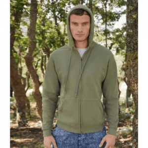 Fruit of the Loom Classic Zip Hooded Sweatshirt