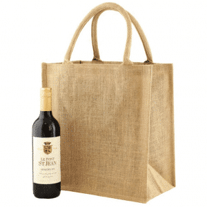 Branded Six Bottle Wine Bag