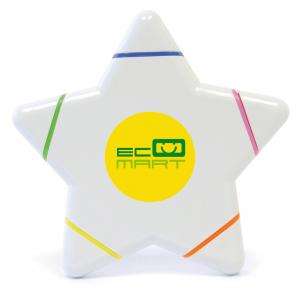 Star 5 Colour Highlighter