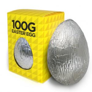 Large Belgian Chocolate Easter Egg