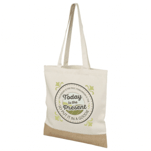 Cotton Jute Tote Bag