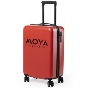 Logo Printed Suitcase