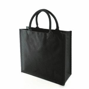 Black 8oz Canvas Shopping Bag